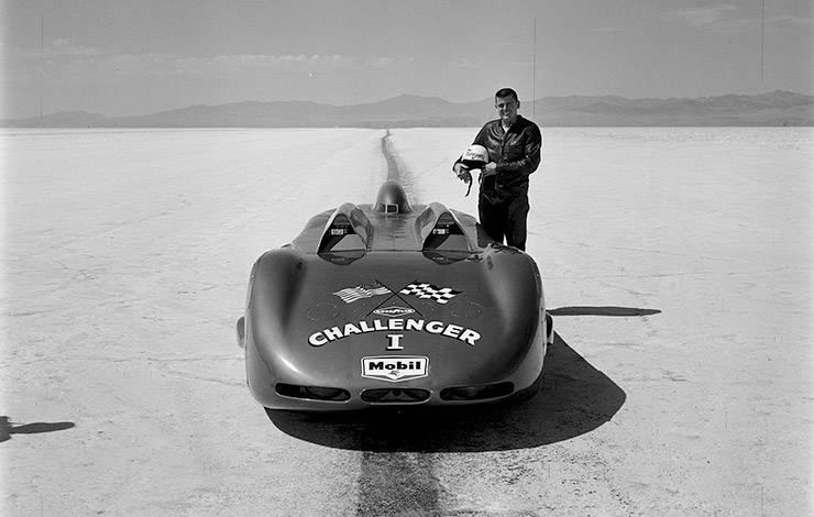 Pontiac Challenger 1 and Mickey Thompson