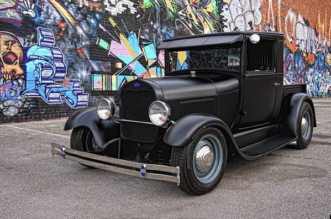 1929 Model A hot rod Wicked In Suede
