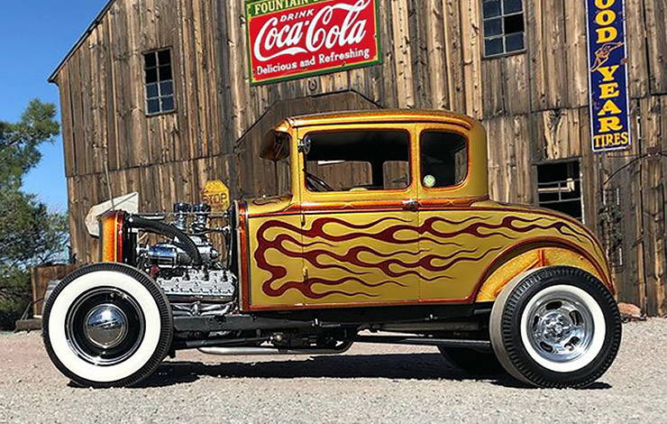 Clean Rock One 1931 Ford Model A