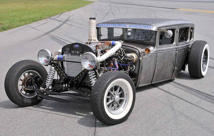 1931 Ford Tudor rat rod