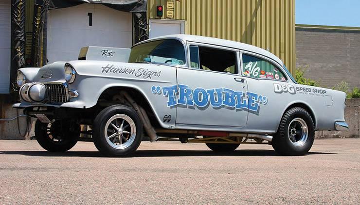 1955 Chevrolet 210 nicknamed Trouble left side