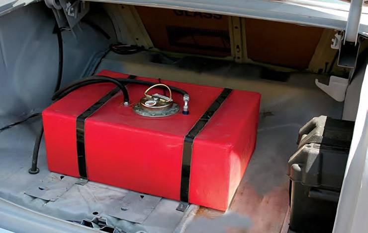 1955 Chevy 210 gasser trunk