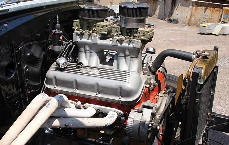468-ci big block Chevy in 1955 Tri-Five gasser