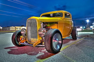 Ford Deuce Coupe hot rod