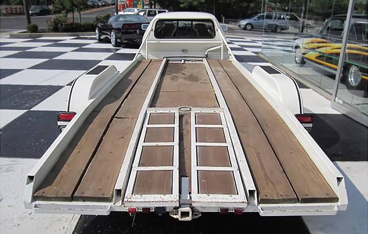 Oldsmobile Toronado hauler rear end