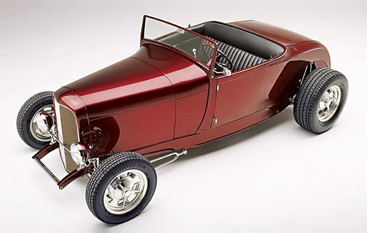 Brian Brennans 1929 Model A Roadster Highboy front left
