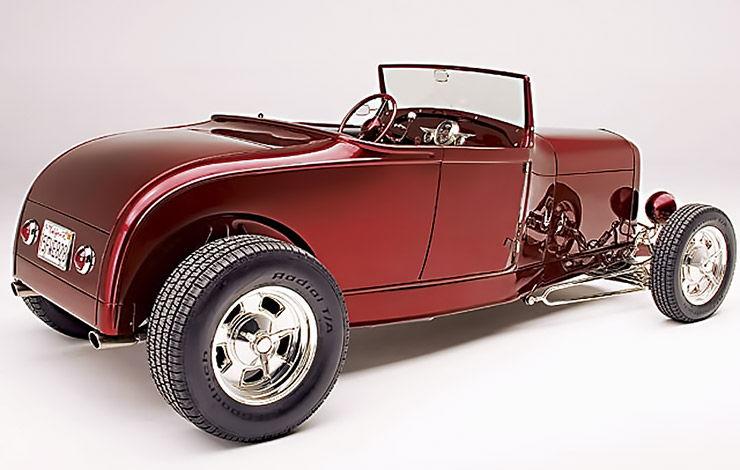 Brian Brennans 1929 Model A Roadster Highboy rear right