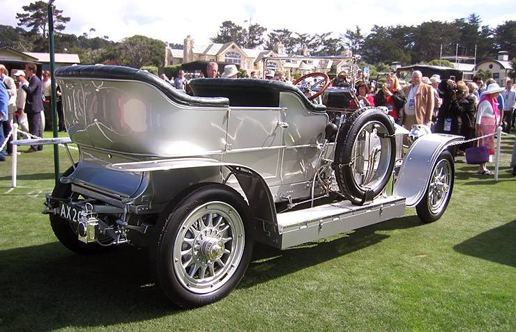The most expensive car in the world - 1907 Rolls Royce Silver Ghost