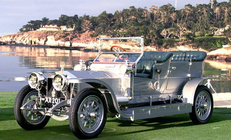 1907 Rolls Royce Silver Ghost - worlds most expensive car