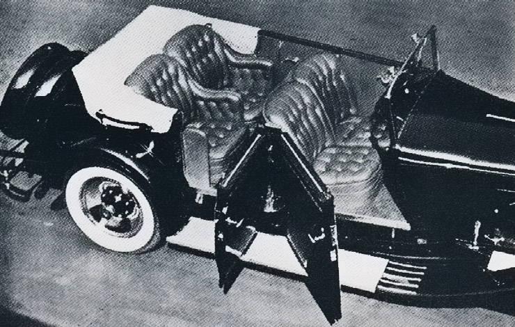 1930 LeBaron Packard Convertible Sedan