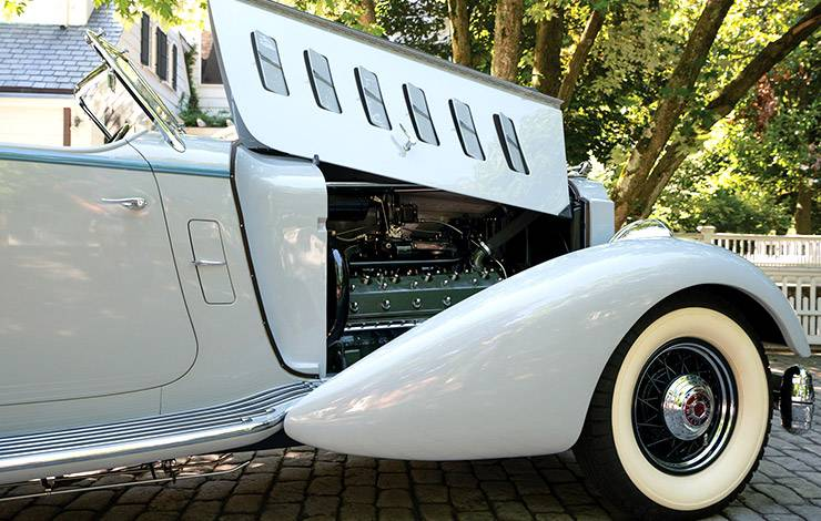 1934 Packard Twelve LeBaron Sport Phaeton