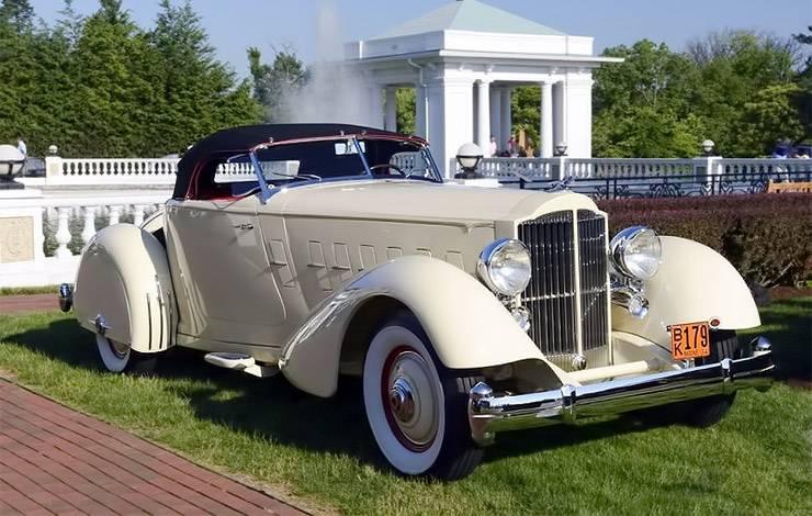 1934 Packard Twelve LeBaron Runabout Speedster