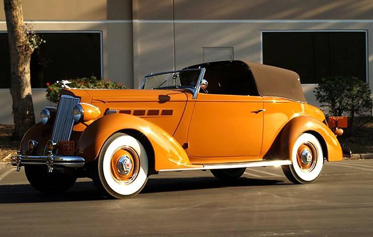 1936 Packard LeBaron Victoria