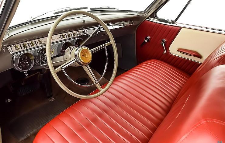 1953 Studebaker Commander interior