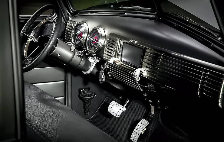 ICON Thriftmaster Chevy Pickup interior