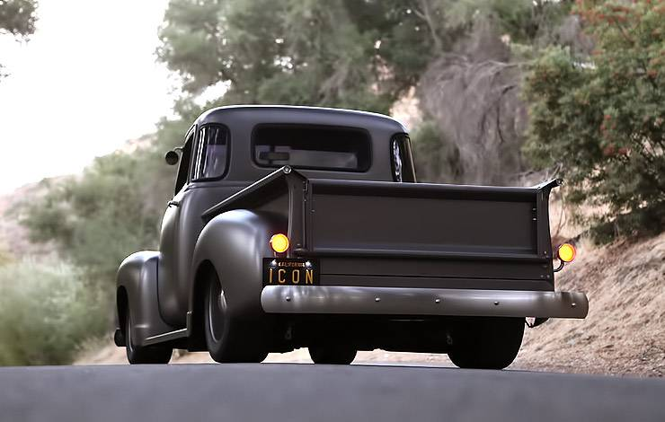 ICON Thriftmaster Chevy Pickup rear end