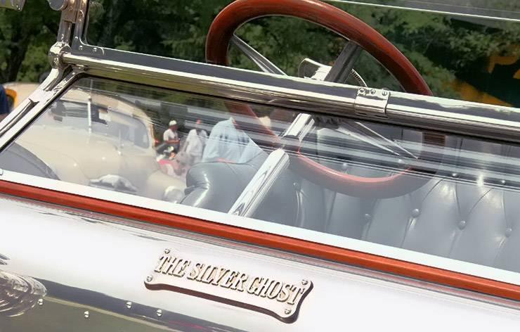 The Silver Ghost Rolls Royce