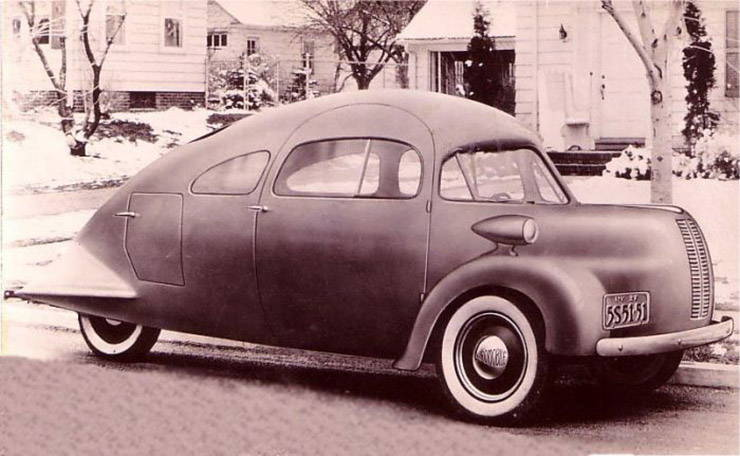 1937 Airomobile vintage photo