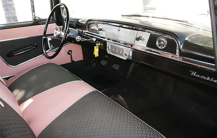 1958 Rambler Cross Country station wagon interior