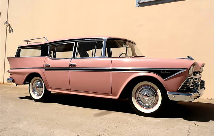 1958 Rambler Cross Country station wagon three quarter front right