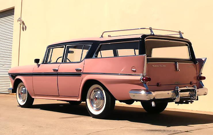 1958 Rambler Cross Country station wagon three quarter rear left
