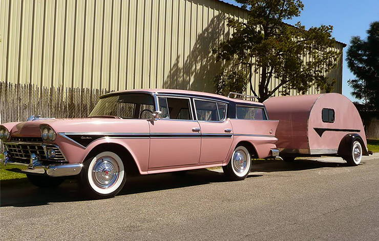 1958 Rambler Cross Country station wagon