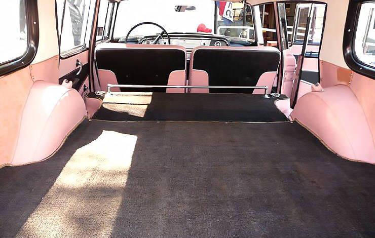 1958 Rambler Cross Country station wagon reclining seats