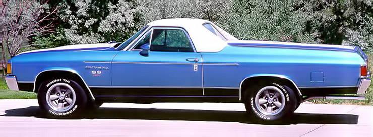 1972 Chevrolet El Camino SS 454 aka CARRGO