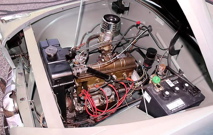 1952 Crosley Model CD motor