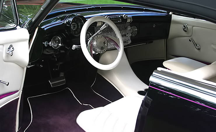 1953 Buick Breathless interior