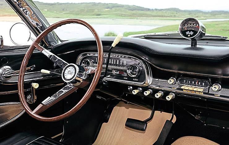 1963 Ford Falcon Sprint interior