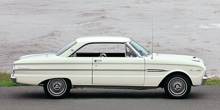 1963 Ford Falcon Sprint right side