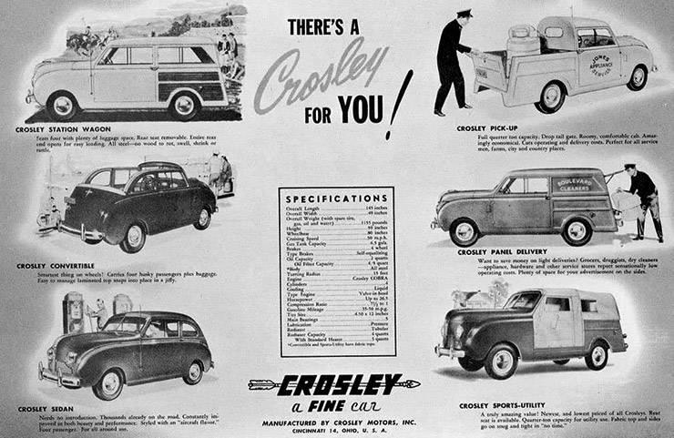 Crosley CD models