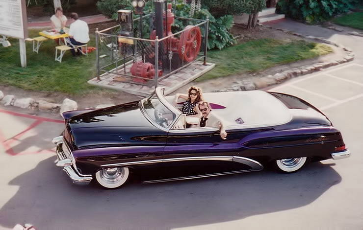 Rick Dore with his wife Susan in 1953 Buick Breathless