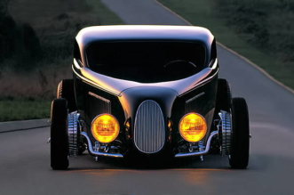 1933 Ford Coupe TRACKSTAR built in Alloway Hot Rod Shop