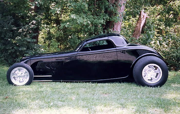 1933 Ford Coupe TRACKSTAR hot rod left side