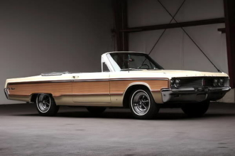 1968 Chrysler Newport Convertible with Sports Grain Option
