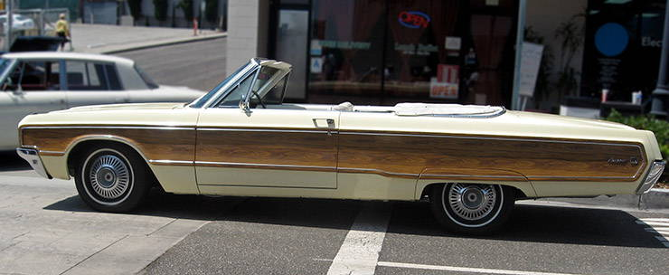 1968 Chrysler Newport Convertible with Sports Grain Option right