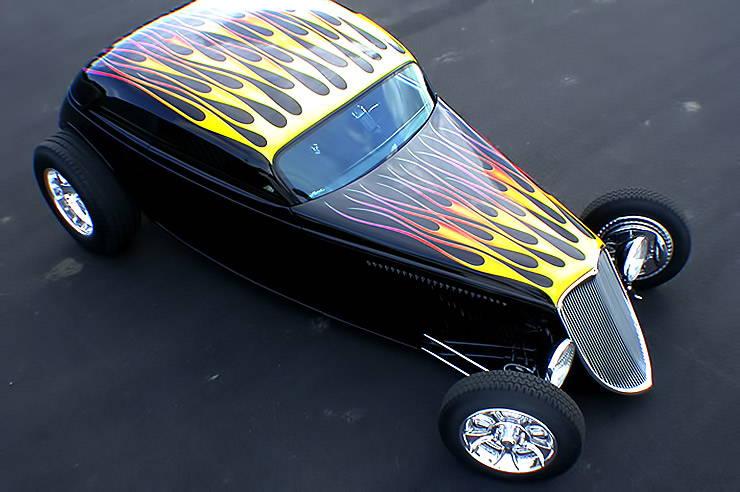 Bobby Alloway's personal SpeedStar roadster