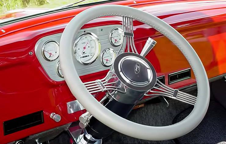 Rod Reprogles 1953 Ford F-100 interior