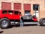 1928 Studebaker Rodzilla with Twin-Turbocharged Tank Engine