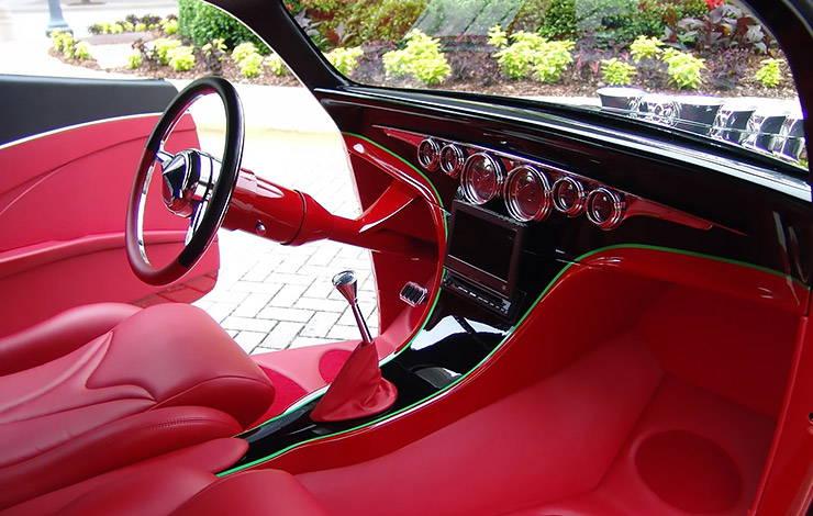 1934 Chevrolet Phantom Sedan The Instigator interior