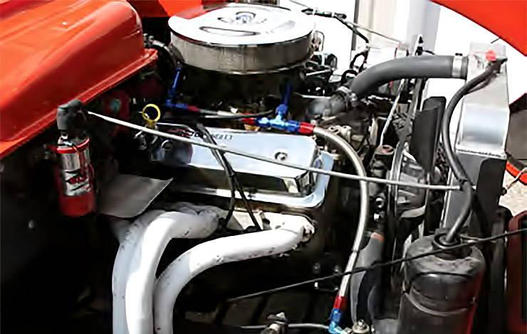 1952 Henry J gasser engine