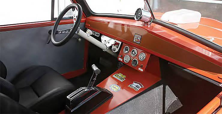 1952 Henry J gasser interior
