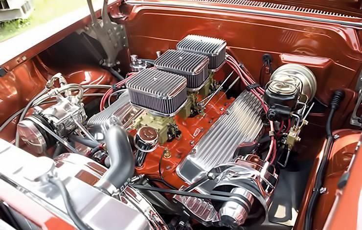 1958 El Nomado engine