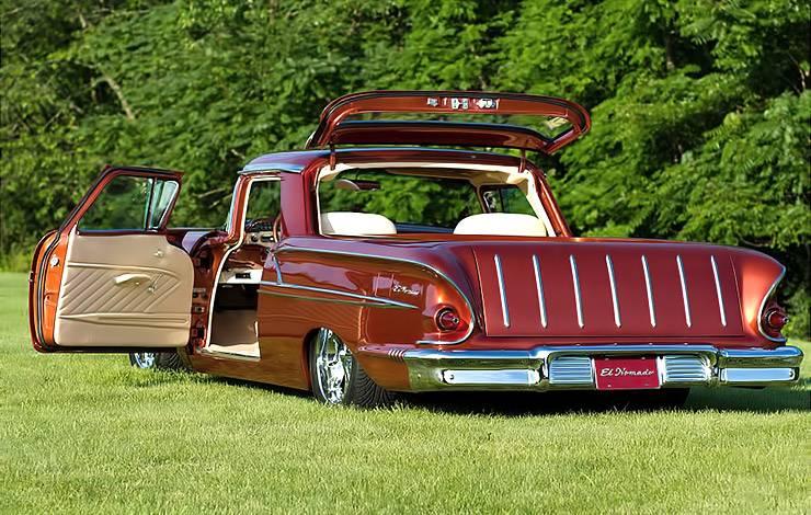 1958 El Nomado rear left