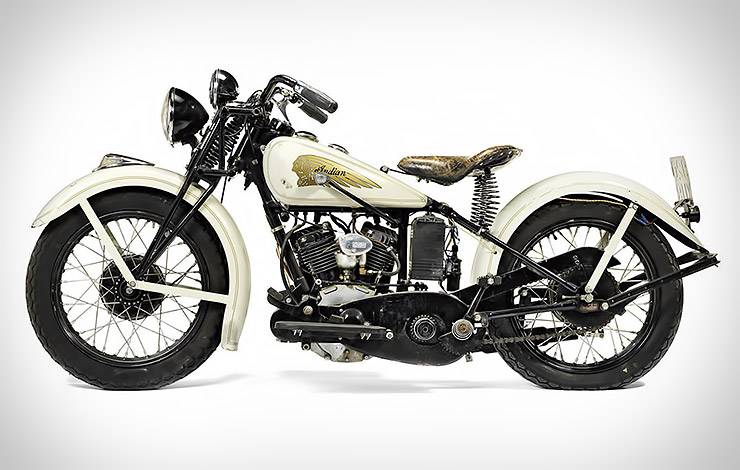 1934 Indian Sport Scout owned by Steve McQueen