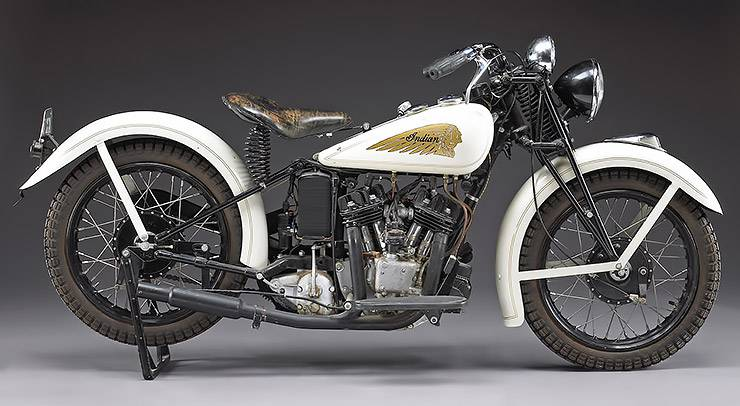 1934 Indian Sport Scout previously owned by Steve McQueen