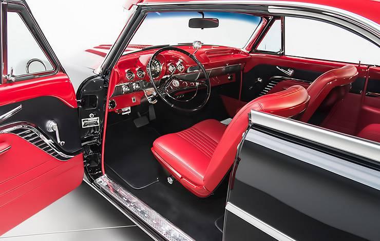 1953 Mercury Monterey hot rod interior