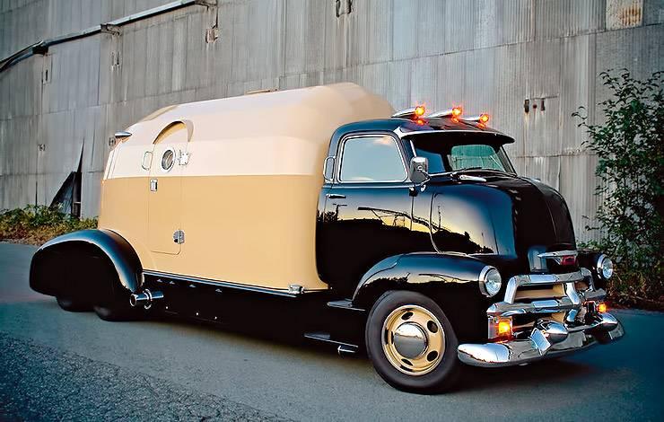 1954 Chevrolet COE Tourliner motorhome